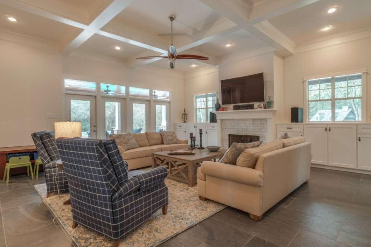 Custom Living Room Design